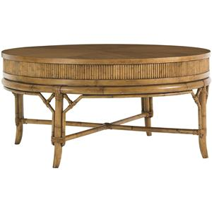 Tommy Bahama Home Beach House Oyster Cove Round Cocktail Table