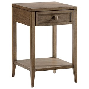 Ellsworth Night Table with Open Display Shelf