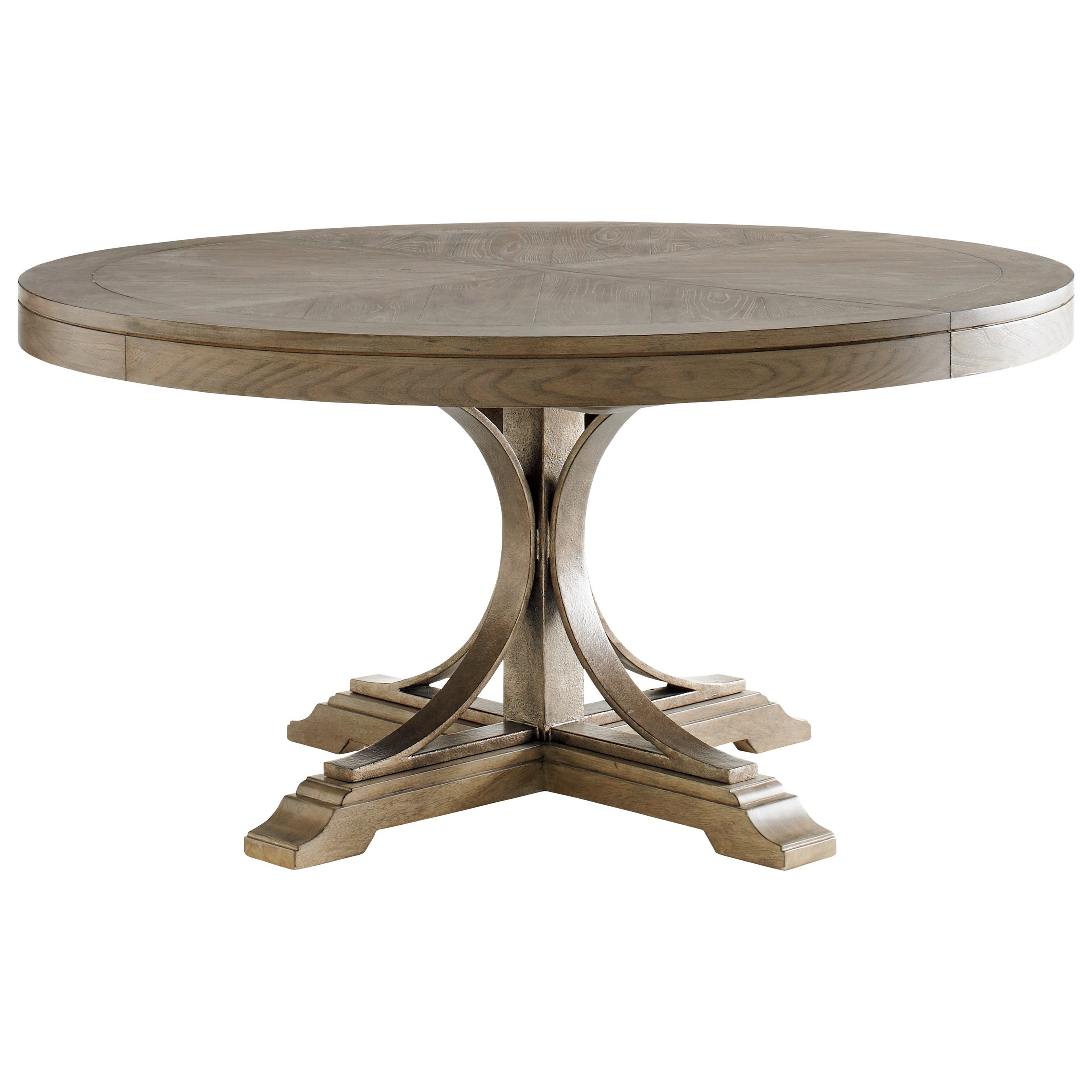 Cypress Point Atwell Round Dining Table by Tommy Bahama Home at Baer's Furniture
