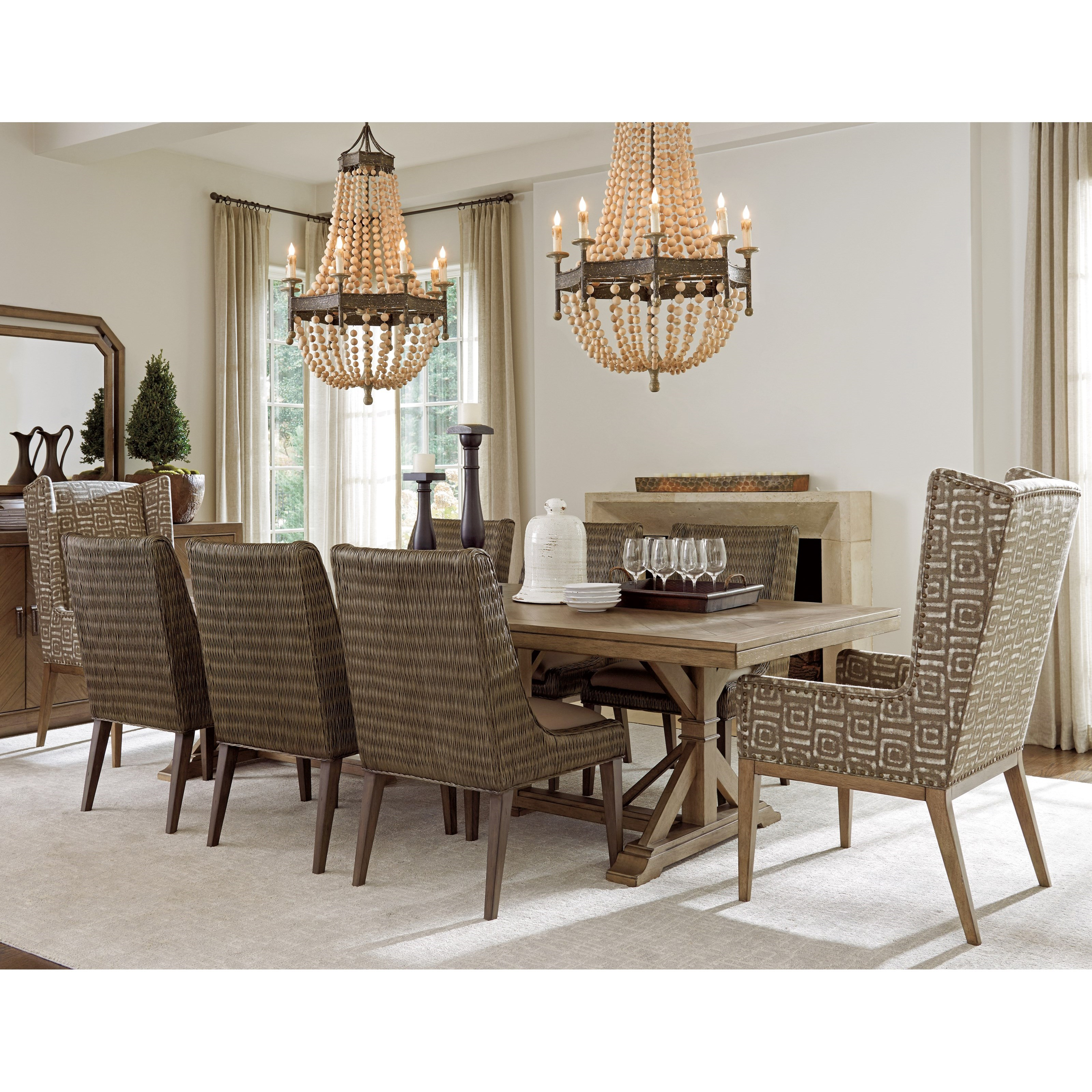 Cypress Point 9 Pc Dining Set by Tommy Bahama Home at Baer's Furniture