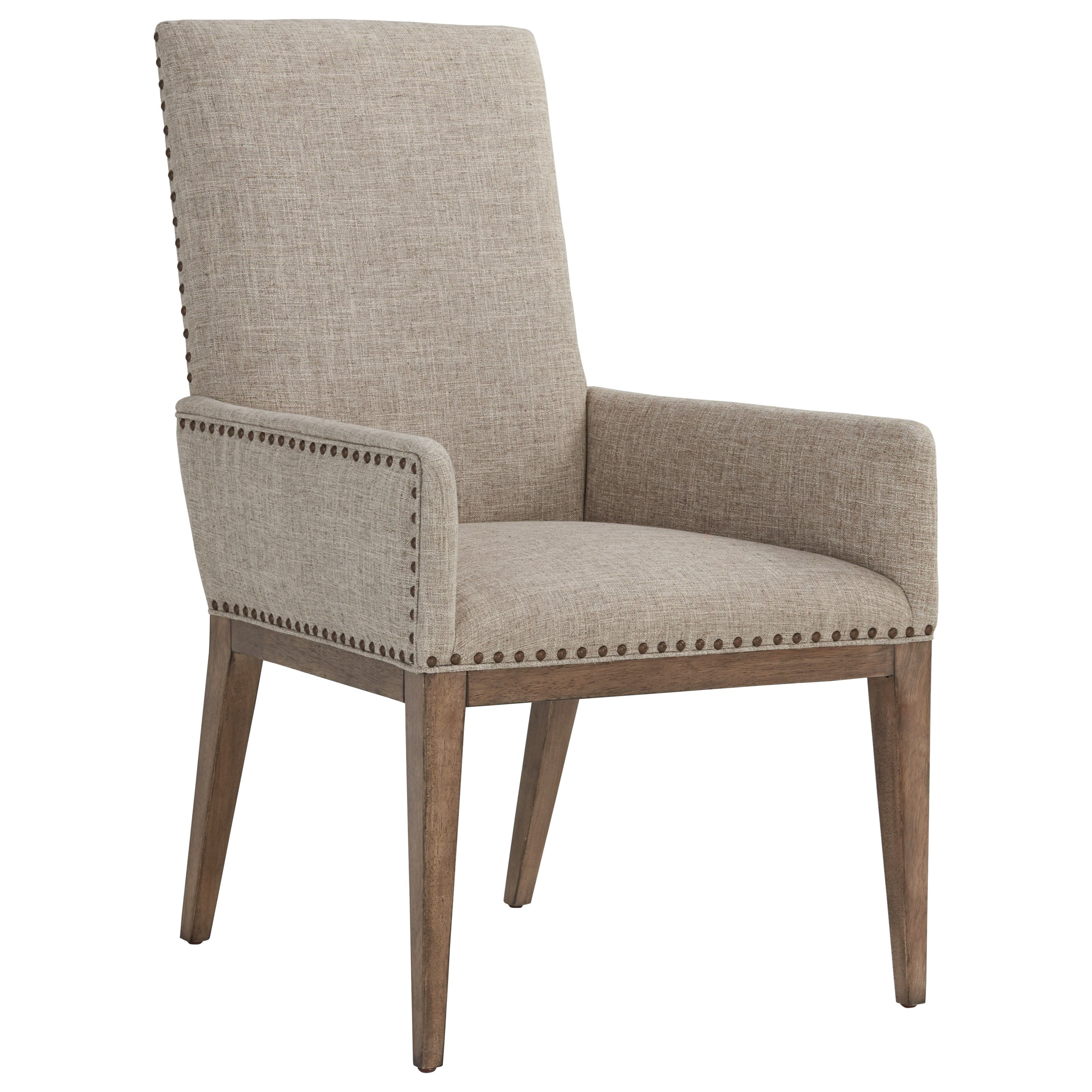 Cypress Point Devereaux Upholstered Arm Chair by Tommy Bahama Home at Baer's Furniture
