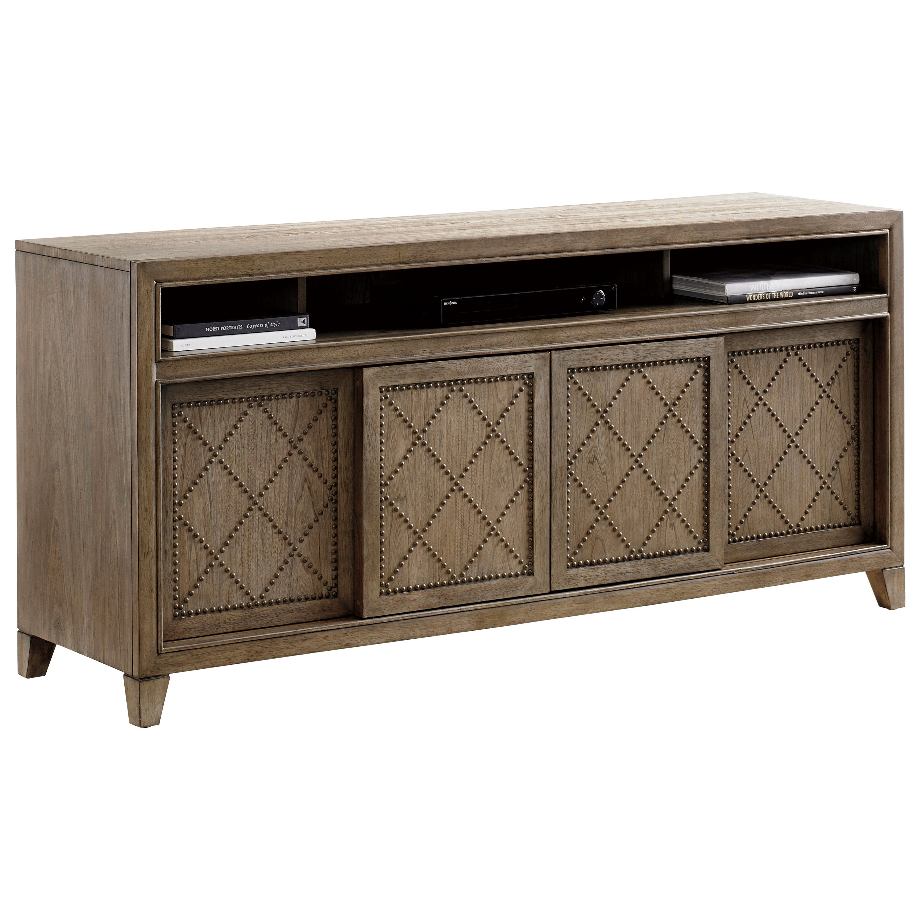 Cypress Point Fairbanks Media Console by Tommy Bahama Home at Baer's Furniture