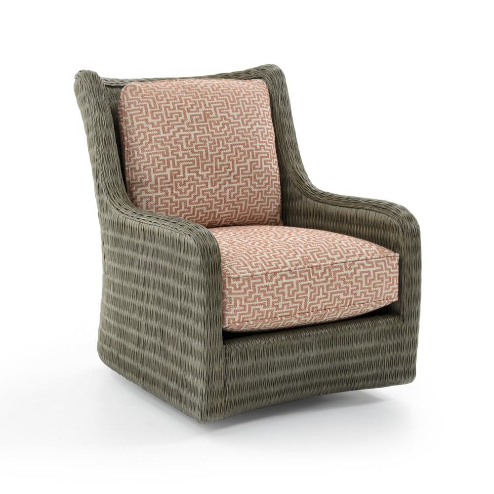 Cypress Point Estero Swivel Chair by Tommy Bahama Home at Baer's Furniture