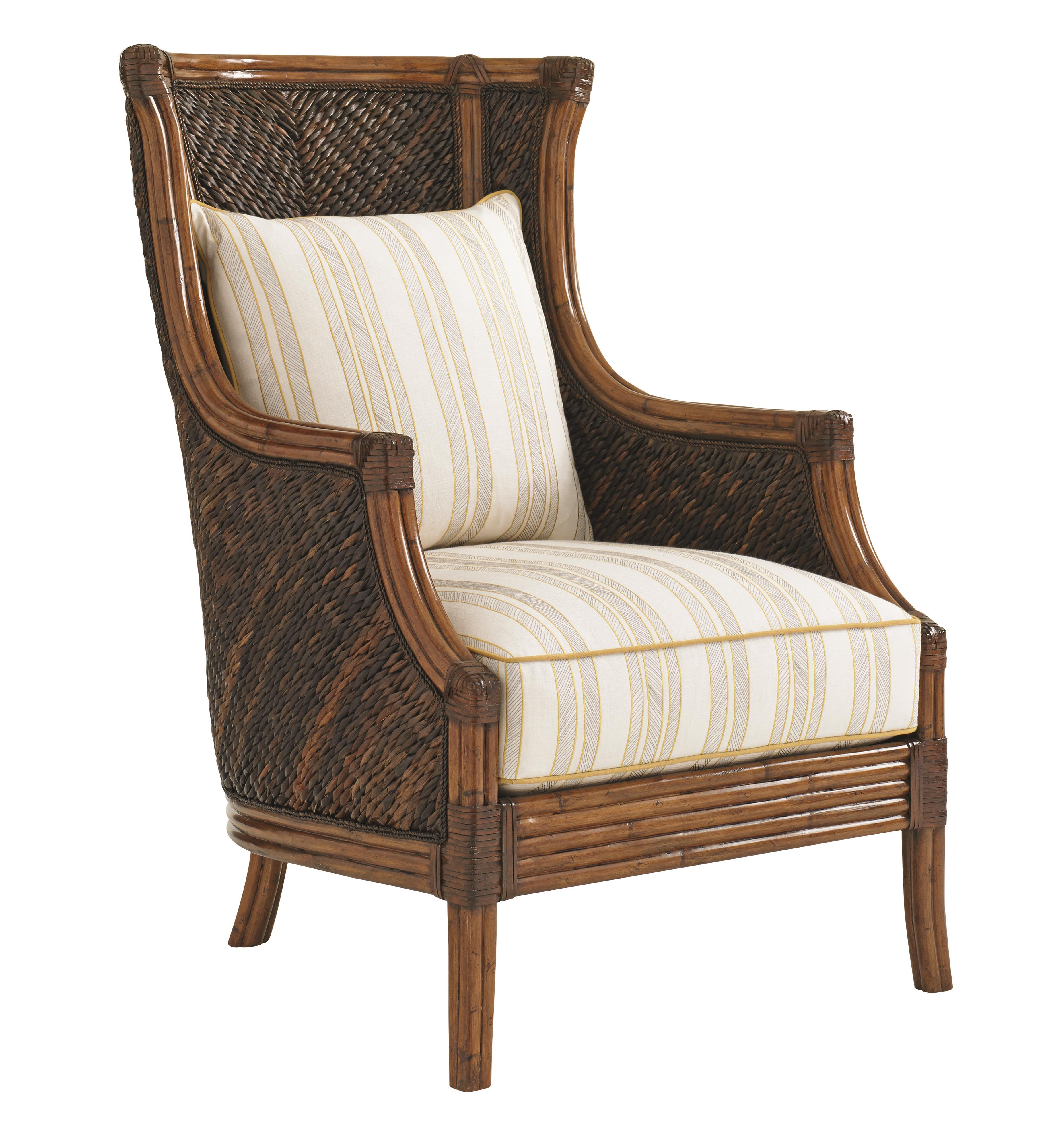 Island Estate Rum Beach Chair by Tommy Bahama Home at Baer's Furniture