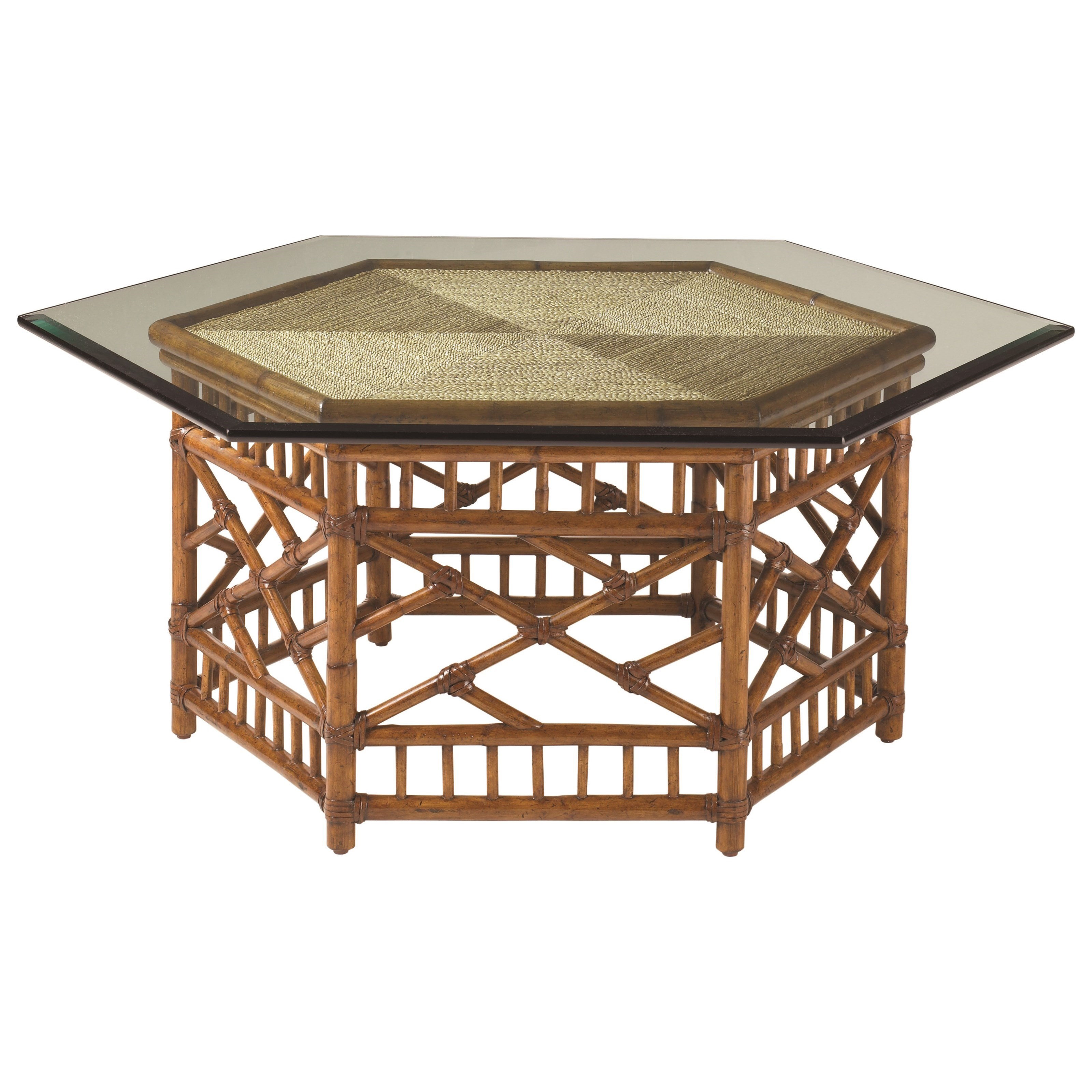 Island Estate  Key Largo Cocktail Table by Tommy Bahama Home at Baer's Furniture