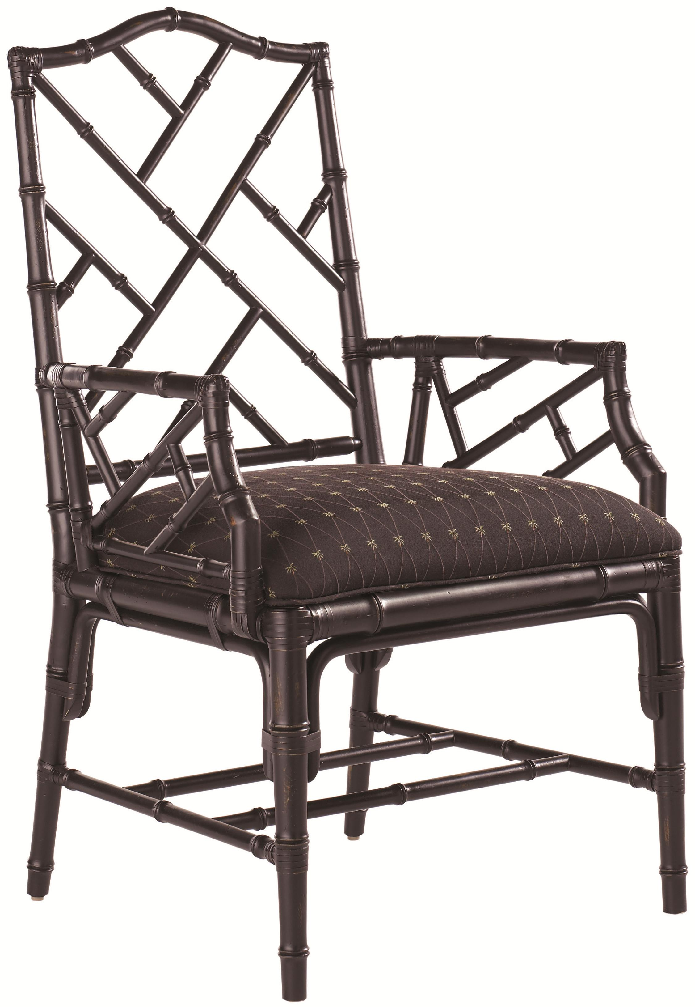Island Estate <b>Customizable</b> Ceylon Arm Chair by Tommy Bahama Home at Baer's Furniture