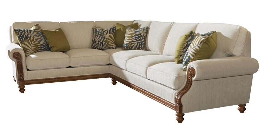 Island Estate West Shore Sectional Sofa LAF Corner by Tommy Bahama Home at Baer's Furniture