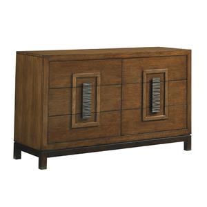 Tahara Asian-Inspired Dresser with Six Drawers
