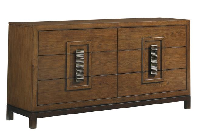 Island Fusion Heron Island Double Dresser by Tommy Bahama Home at Baer's Furniture