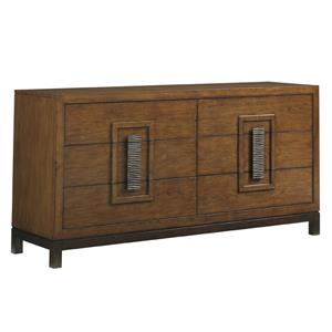 Heron Island Asian-Inspired Dresser with Six Drawers