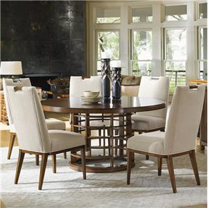 Meridien Dining Table and Coles Bay Side Chair Set