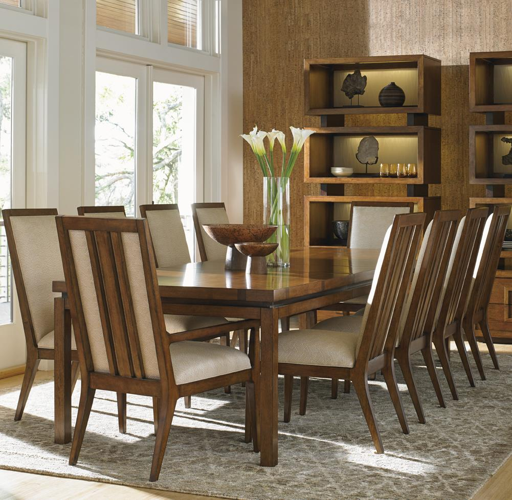 Island Fusion 11 Piece Dining Set  by Tommy Bahama Home at Baer's Furniture