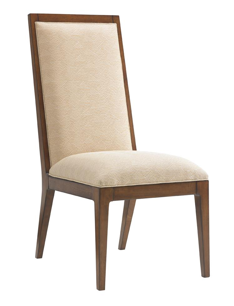 Island Fusion Natori Slat Back Side Chair  by Tommy Bahama Home at Baer's Furniture