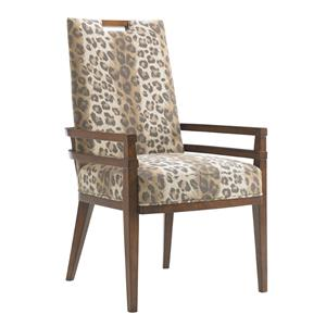 Coles Bay Customizable Arm Chair