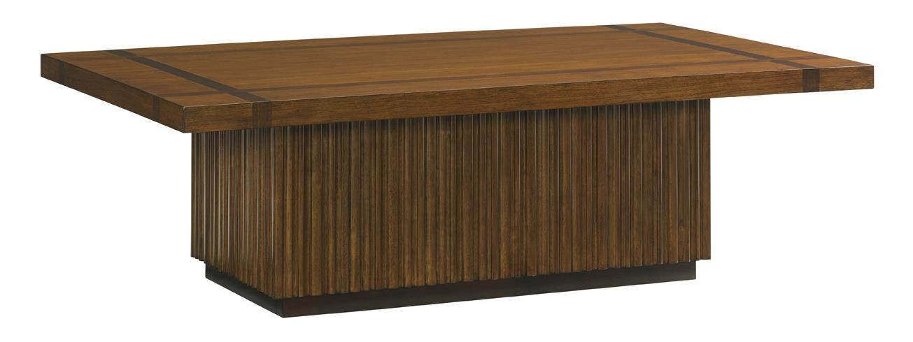 Island Fusion Castaway Rectangular Cocktail Table by Tommy Bahama Home at Johnny Janosik