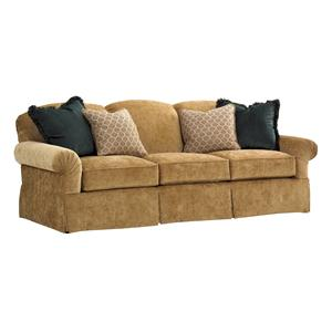 Chatham Camelback Sofa with English Arms and Skirted Base