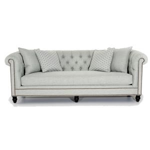 Manchester Chesterfield-Style Sofa with Button Tufting