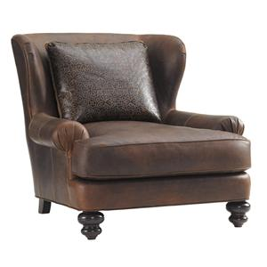 Kent Wing Chair with English Arms