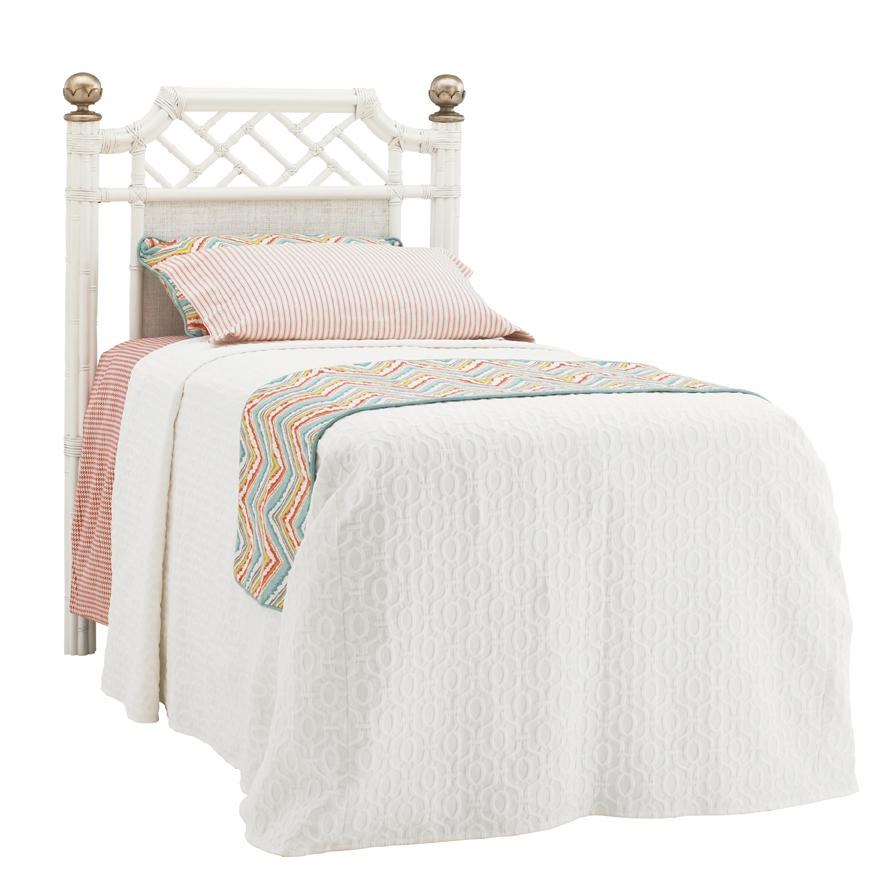Ivory Key Twin Pritchards Bay Panel Headboard by Tommy Bahama Home at Baer's Furniture