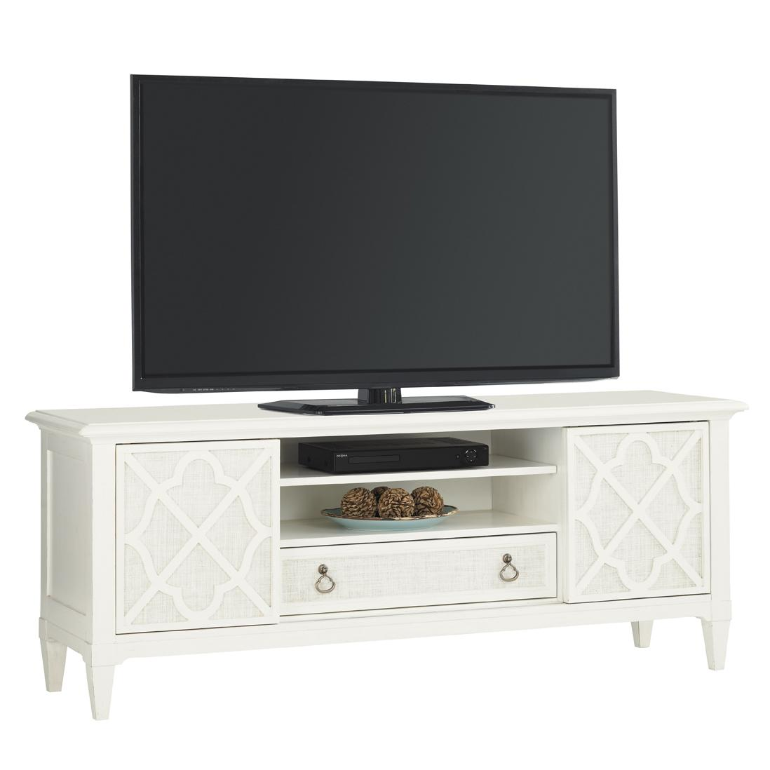 Ivory Key Wharf Street Entertainment Console by Tommy Bahama Home at Baer's Furniture