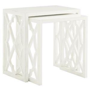 Tommy Bahama Home Ivory Key Stovell Ferry Nesting Tables