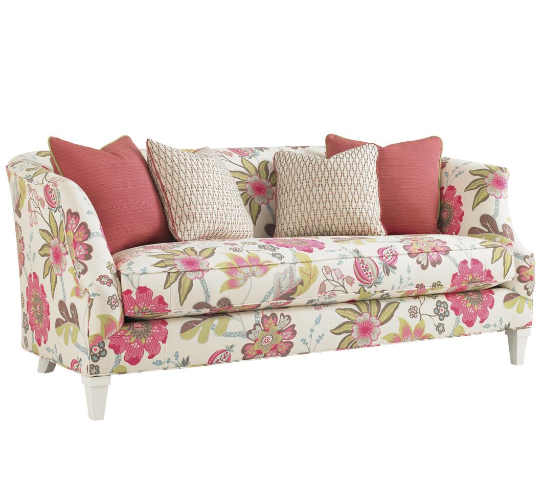 Ivory Key Swan Island Sofa by Tommy Bahama Home at Belfort Furniture