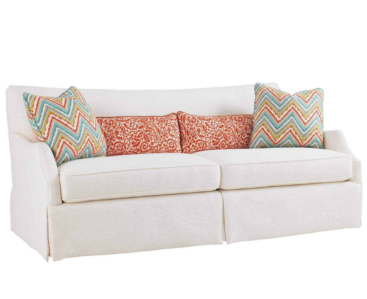Ivory Key Crystal Caves Sofa by Tommy Bahama Home at Baer's Furniture