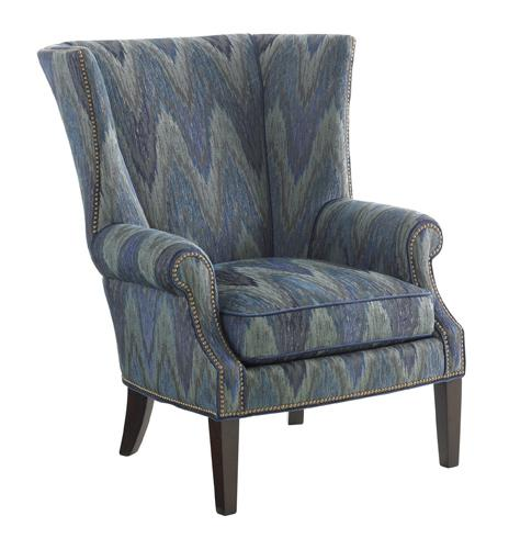 Tommy Bahama Upholstery Marissa Wing Chair by Tommy Bahama Home at Baer's Furniture