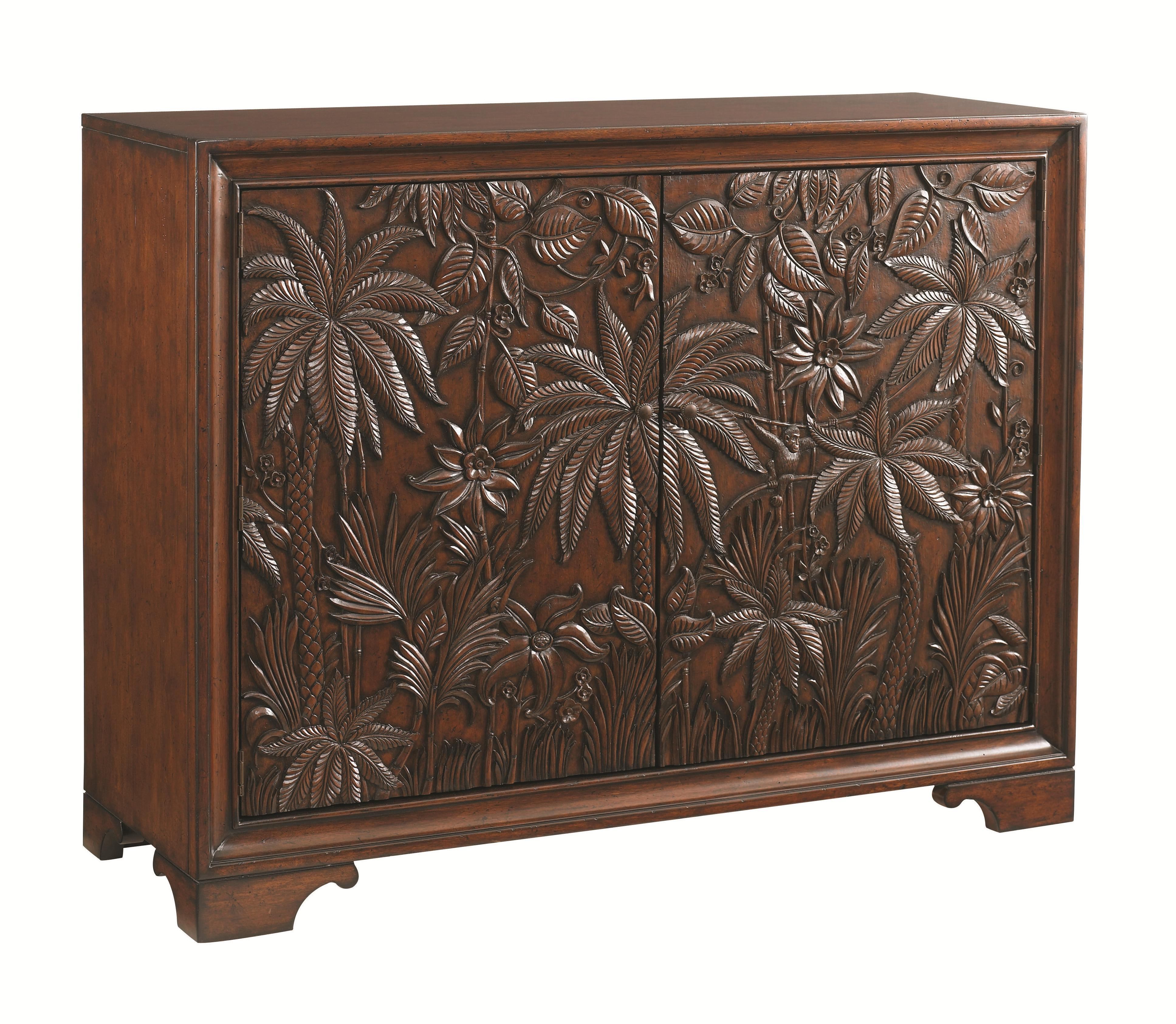 Landara Balboa Carved Door Chest by Tommy Bahama Home at Johnny Janosik