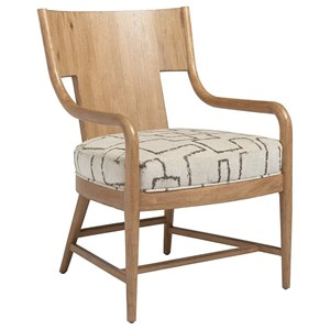 Radford Contemporary Exposed Wood Chair