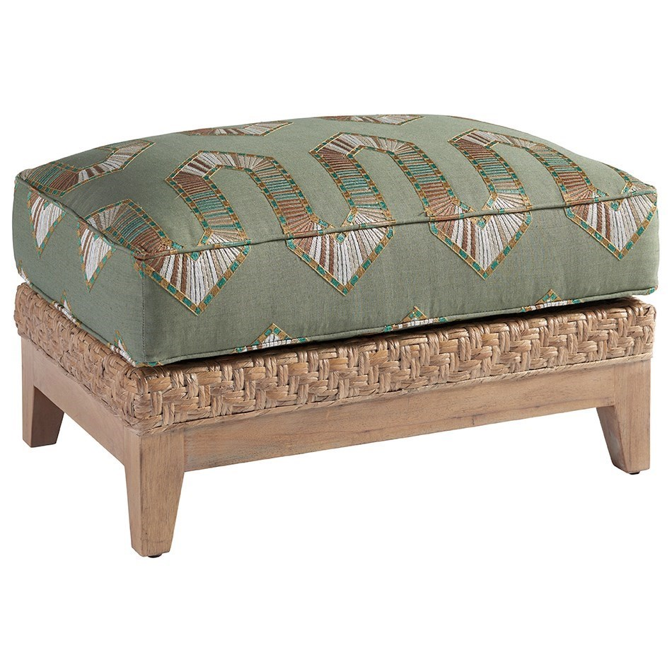 Los Altos Danville Ottoman by Tommy Bahama Home at Baer's Furniture