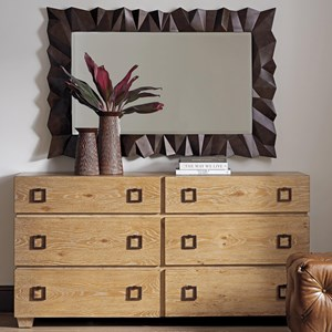 Armiston Double Dresser and Carlisle Mirror Set