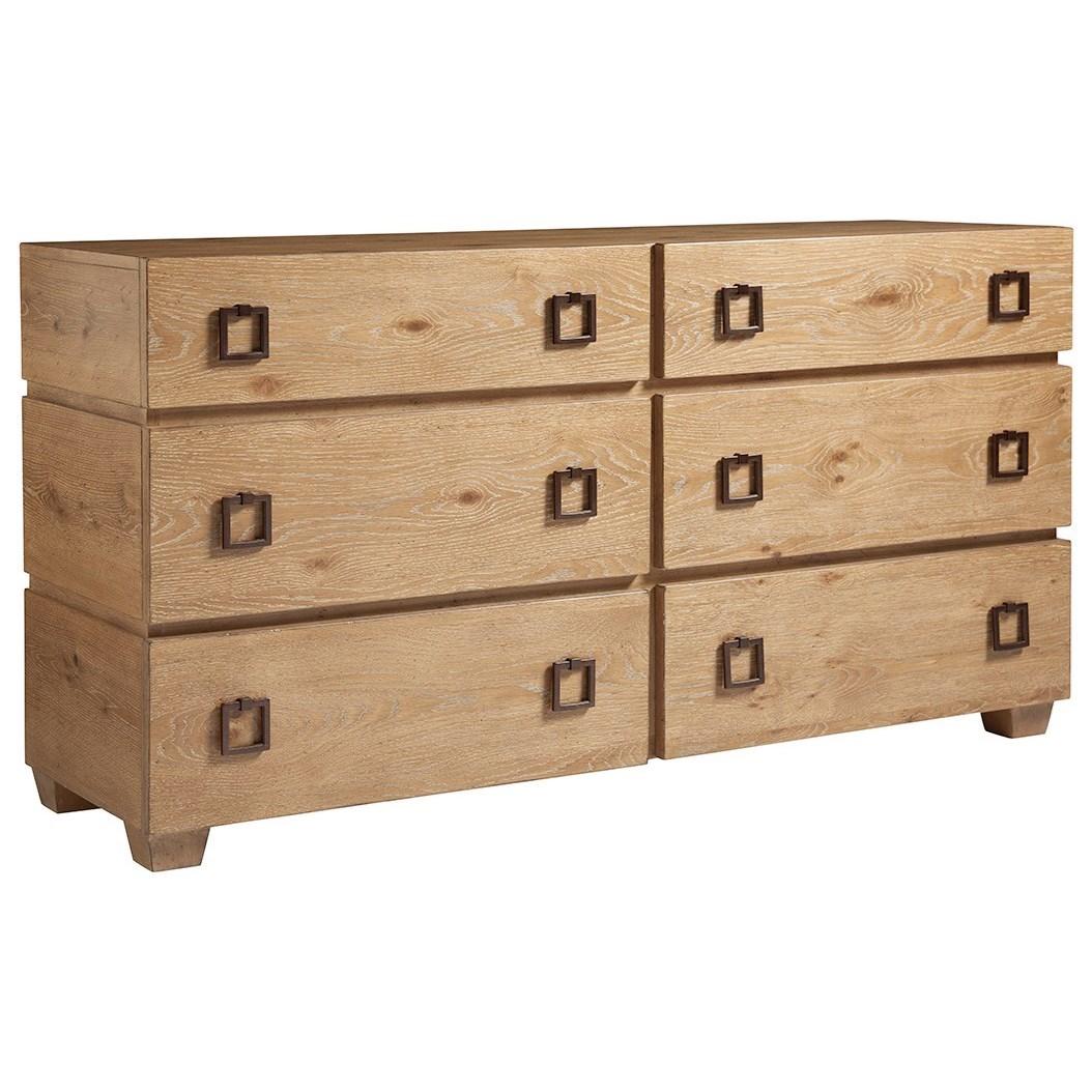 Los Altos Armiston Double Dresser by Tommy Bahama Home at Baer's Furniture