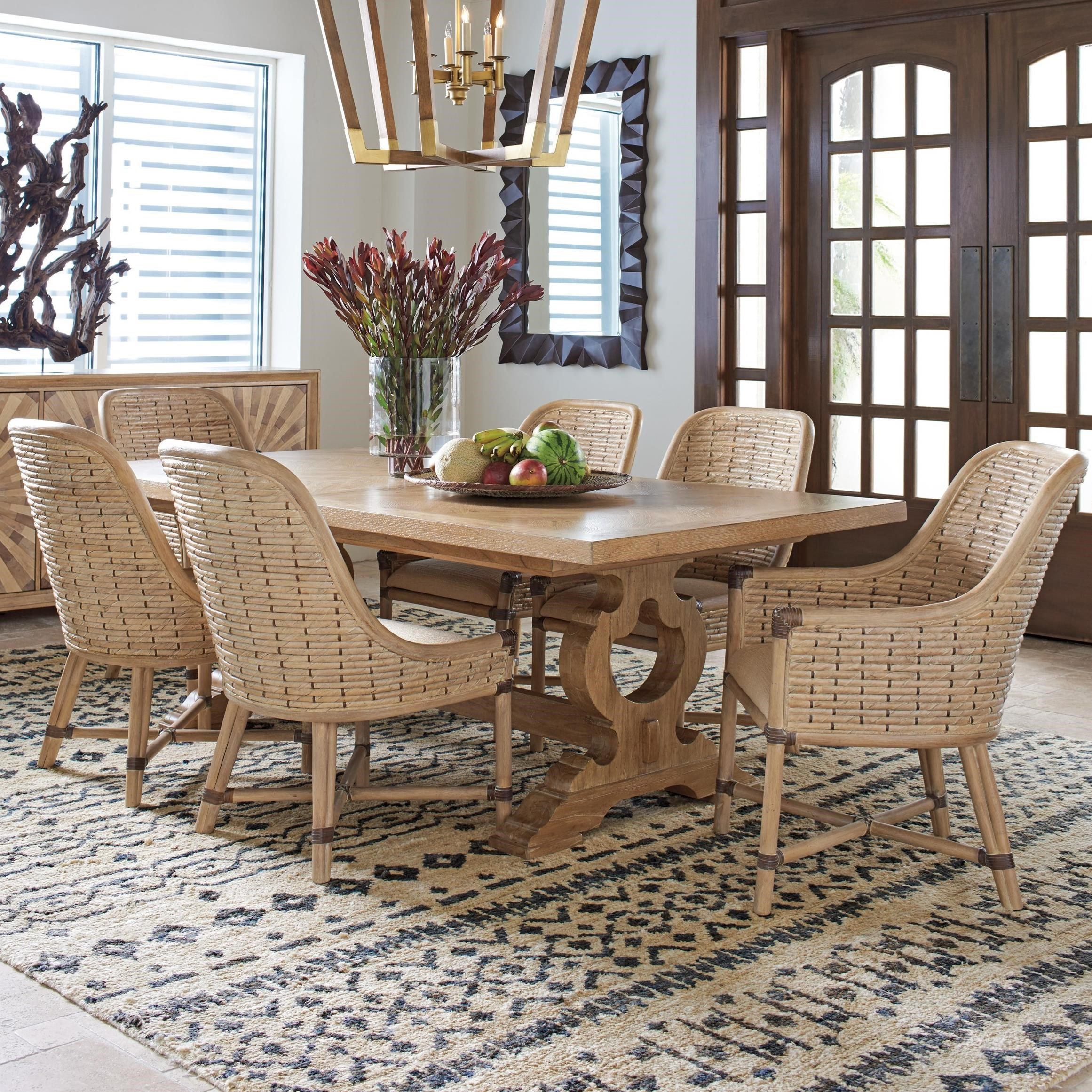 Los Altos 7 Pc Dining Set by Tommy Bahama Home at Baer's Furniture
