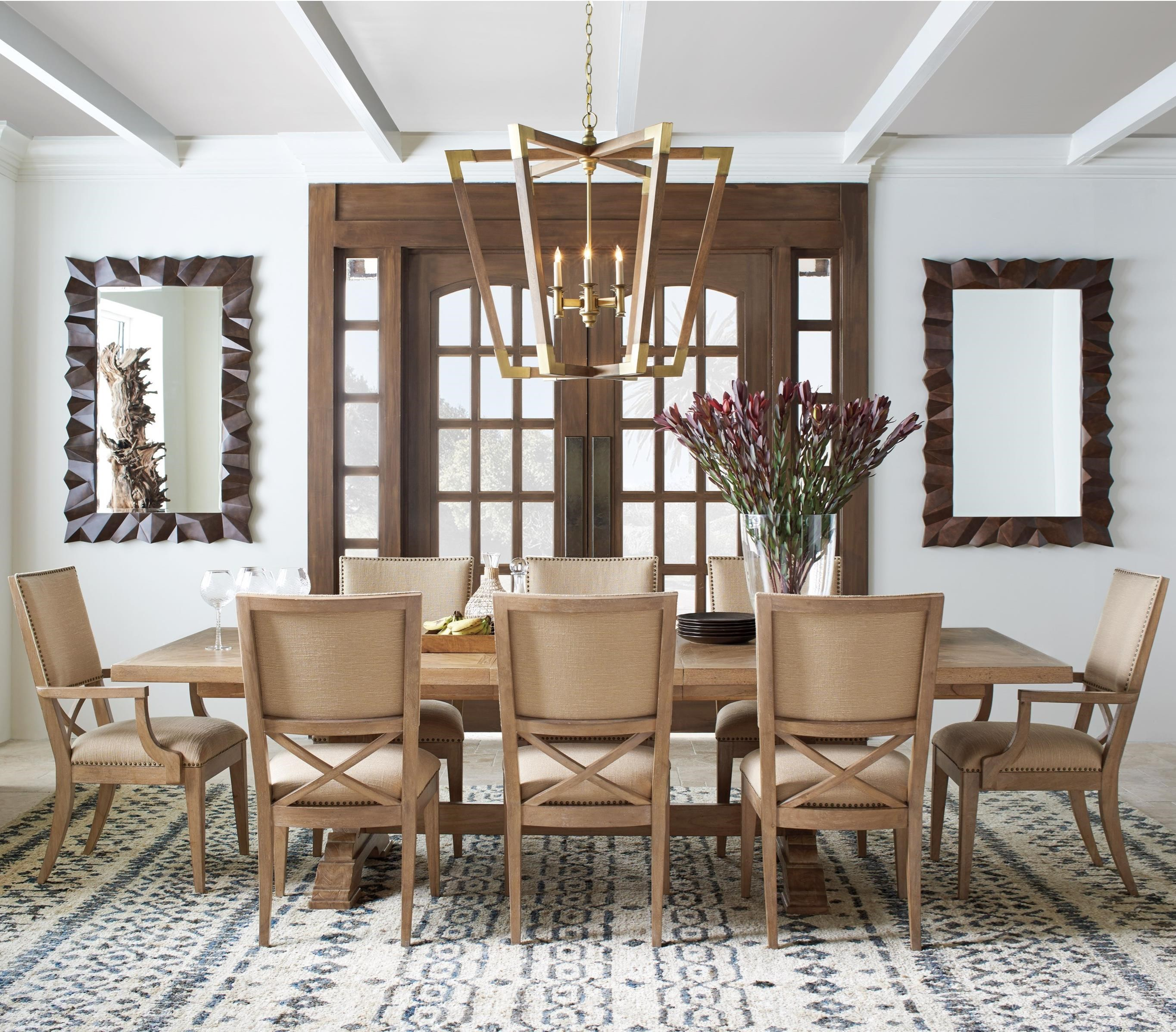 Los Altos 9 Pc Dining Set by Tommy Bahama Home at Baer's Furniture