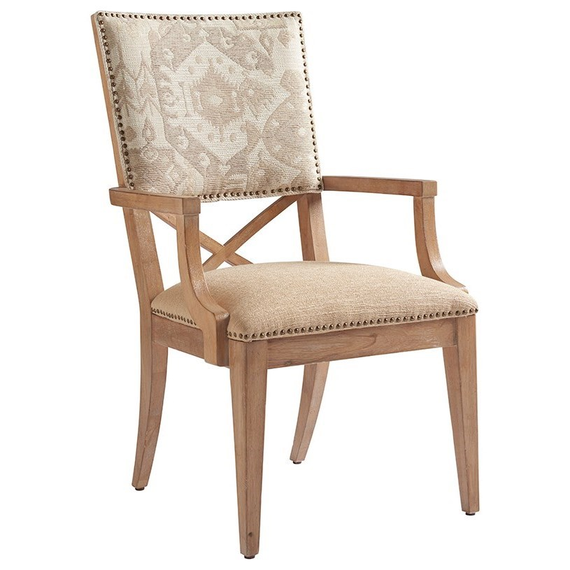 Los Altos Alderman Arm Chair by Tommy Bahama Home at Baer's Furniture