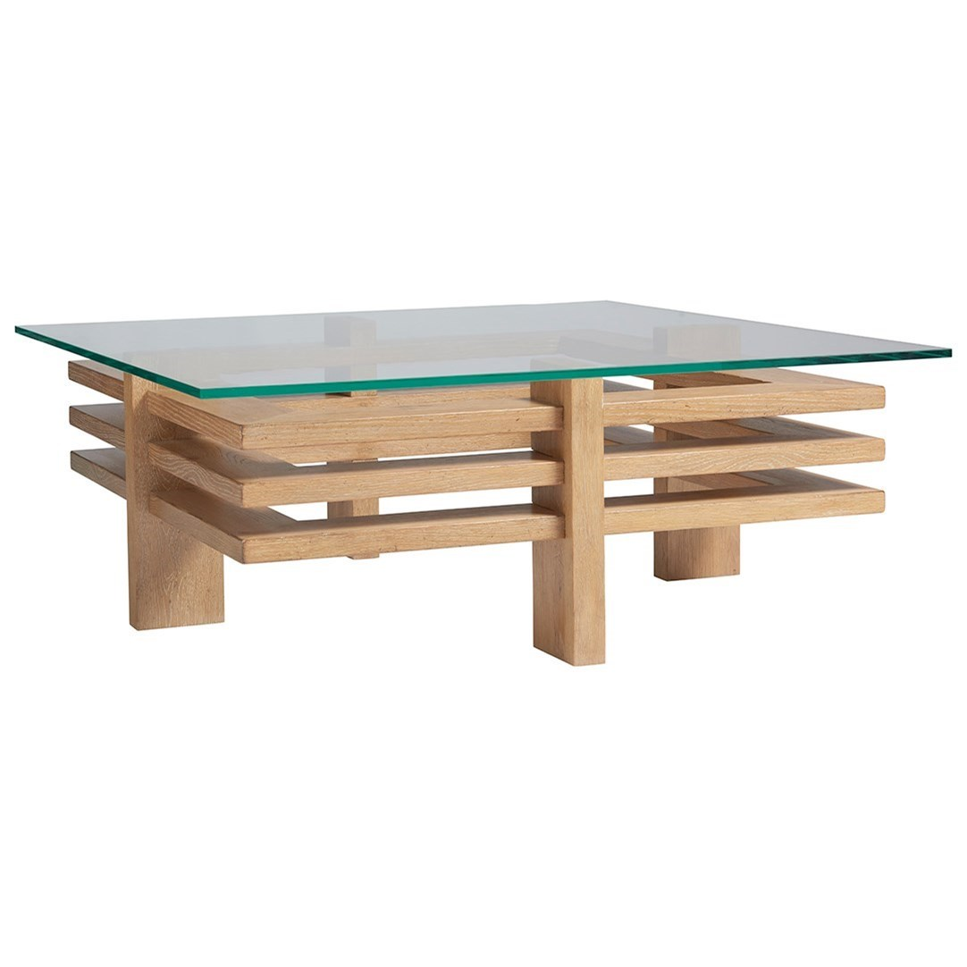 Los Altos Calcutta Cocktail Table by Tommy Bahama Home at C. S. Wo & Sons Hawaii