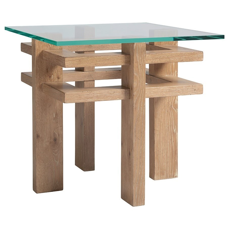 Los Altos Calcutta End Table by Tommy Bahama Home at C. S. Wo & Sons Hawaii