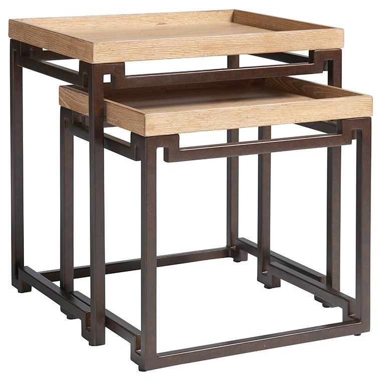Los Altos Dolca Vita Nesting Tables by Tommy Bahama Home at Baer's Furniture