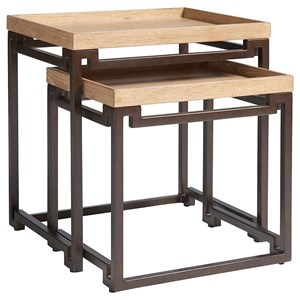 Dolca Vita Set of Two Contemporary Nesting Tables