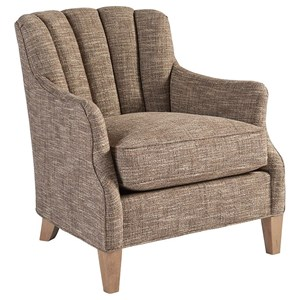 Princeton Transitional Channel-Back Chair