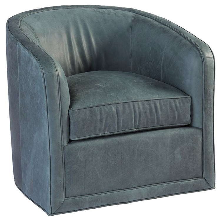 Los Altos Colton Swivel Chair by Tommy Bahama Home at Baer's Furniture