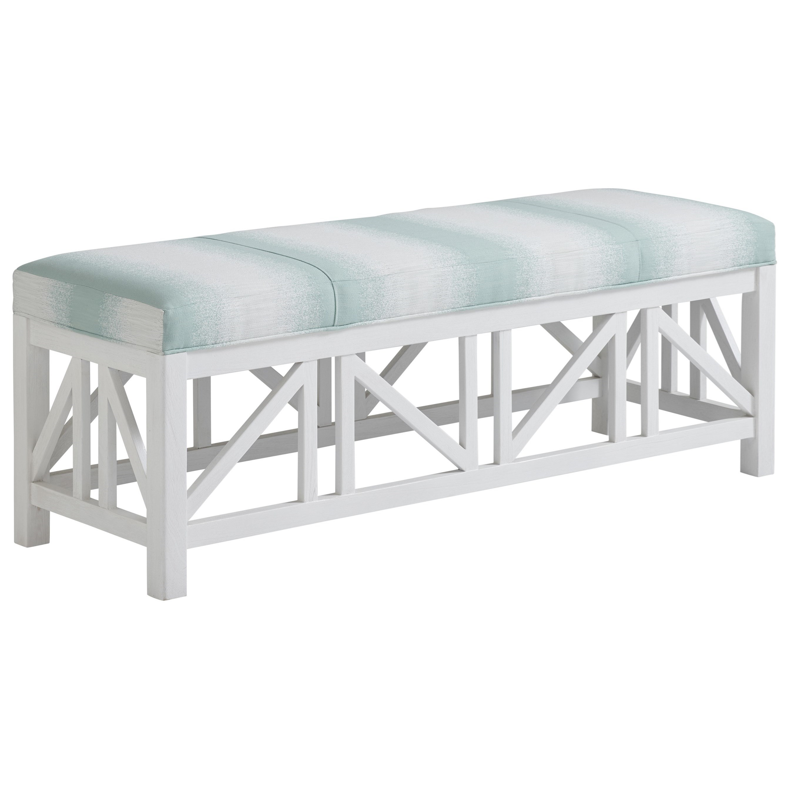 Ocean Breeze Birkdale Bench by Tommy Bahama Home at Johnny Janosik