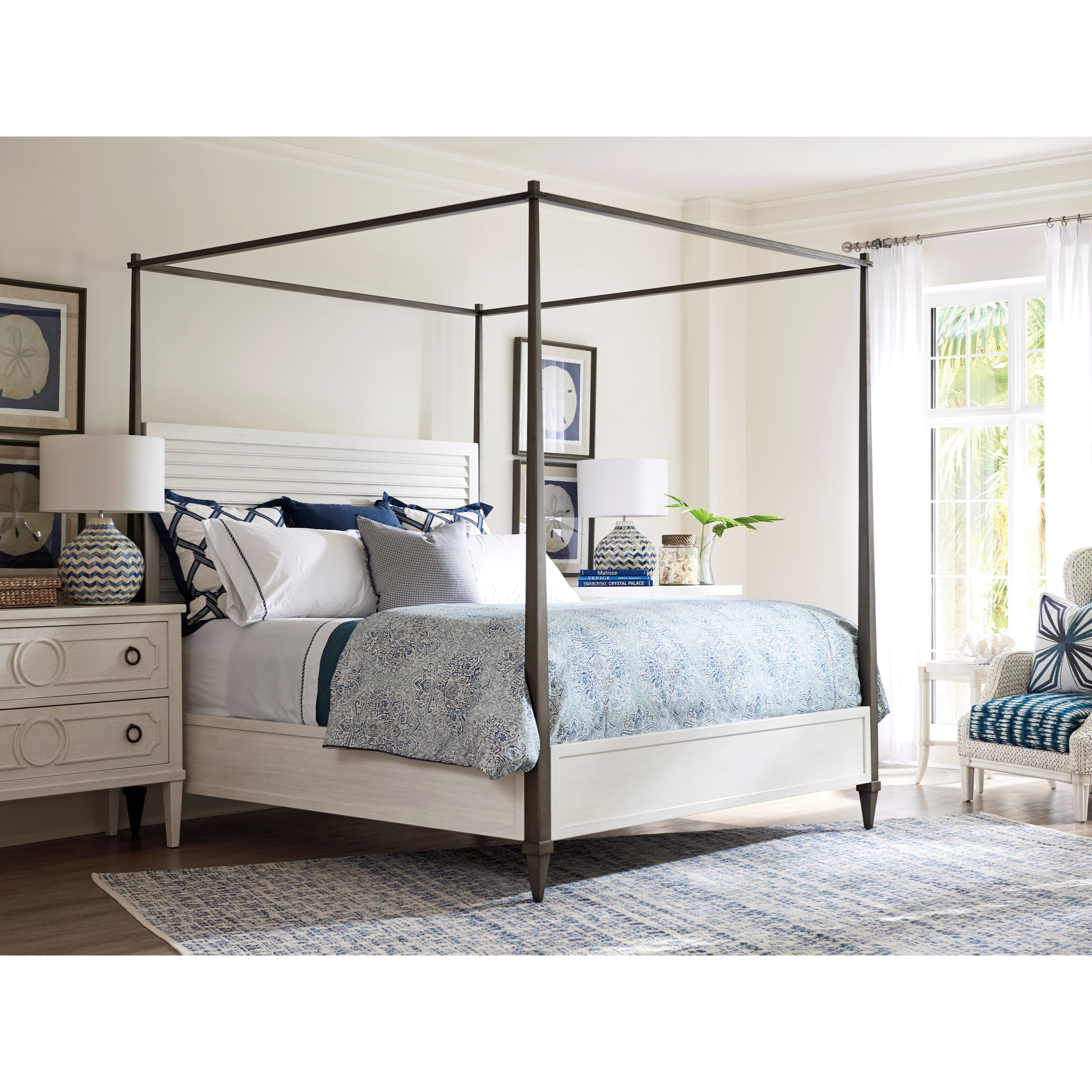 Ocean Breeze King Bedroom Group by Tommy Bahama Home at Baer's Furniture