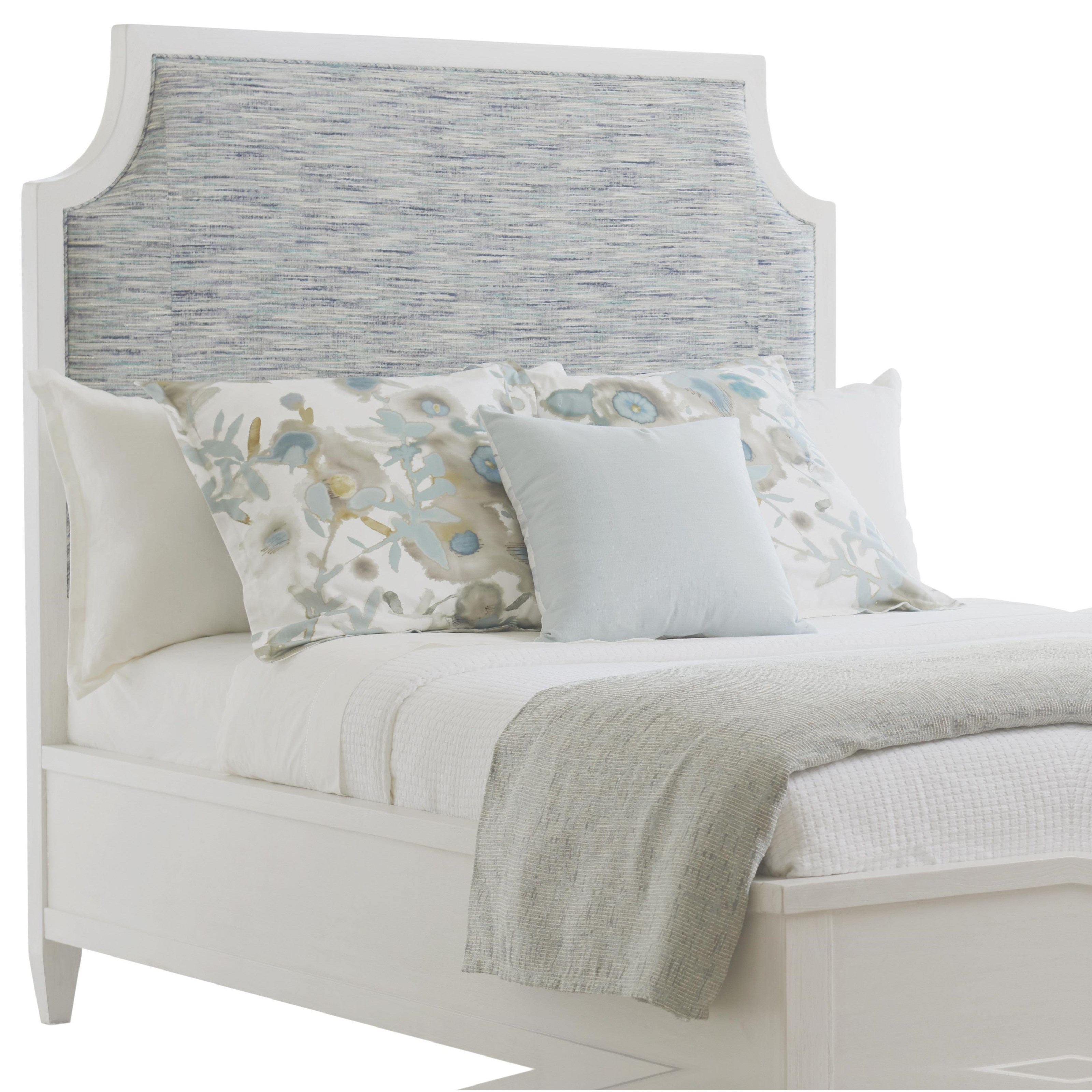 Ocean Breeze Belle Isle Upholstered Headboard Queen by Tommy Bahama Home at Baer's Furniture