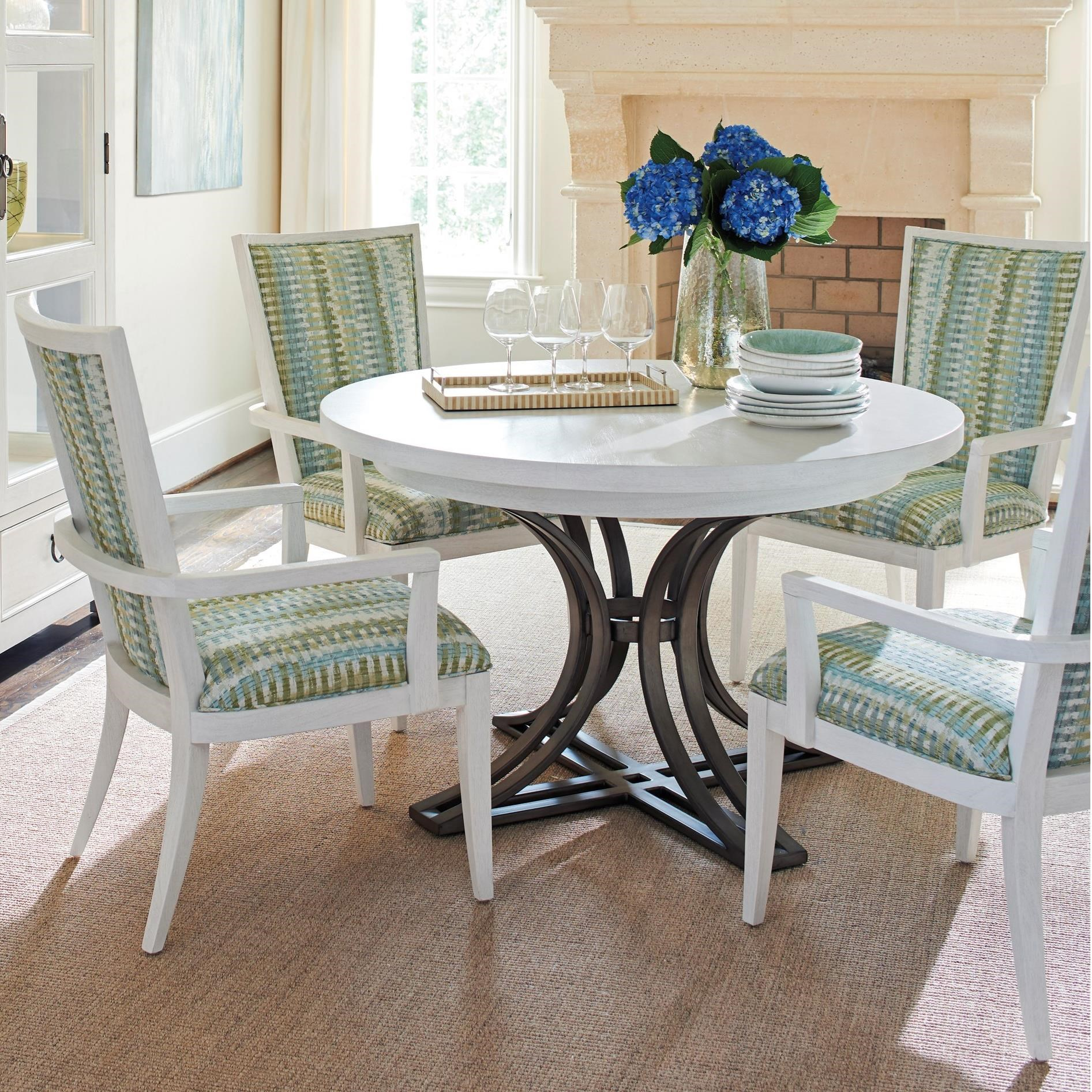 Ocean Breeze 5-Piece Dining Set by Tommy Bahama Home at Baer's Furniture