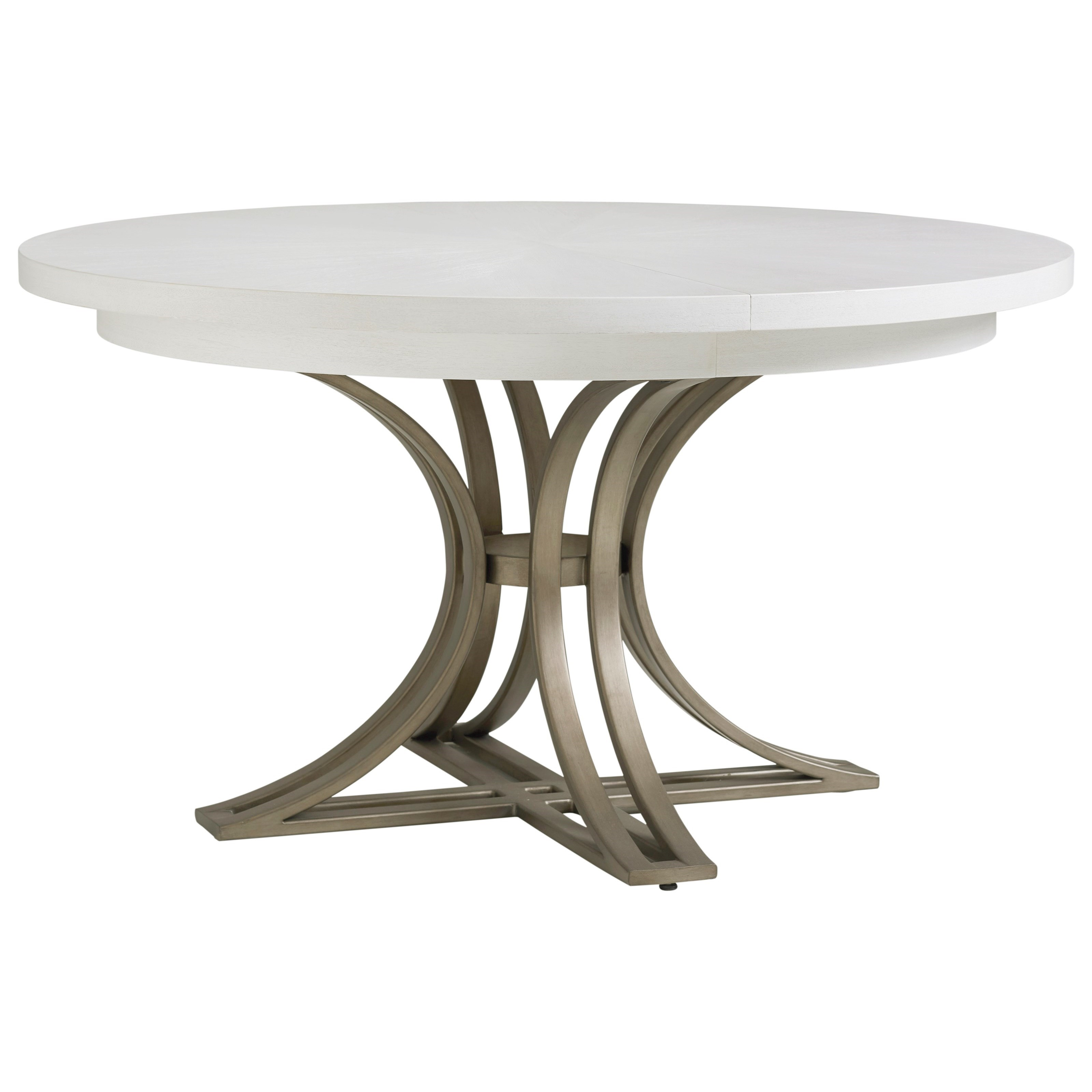 Ocean Breeze Savannah Round Dining Table by Tommy Bahama Home at Baer's Furniture