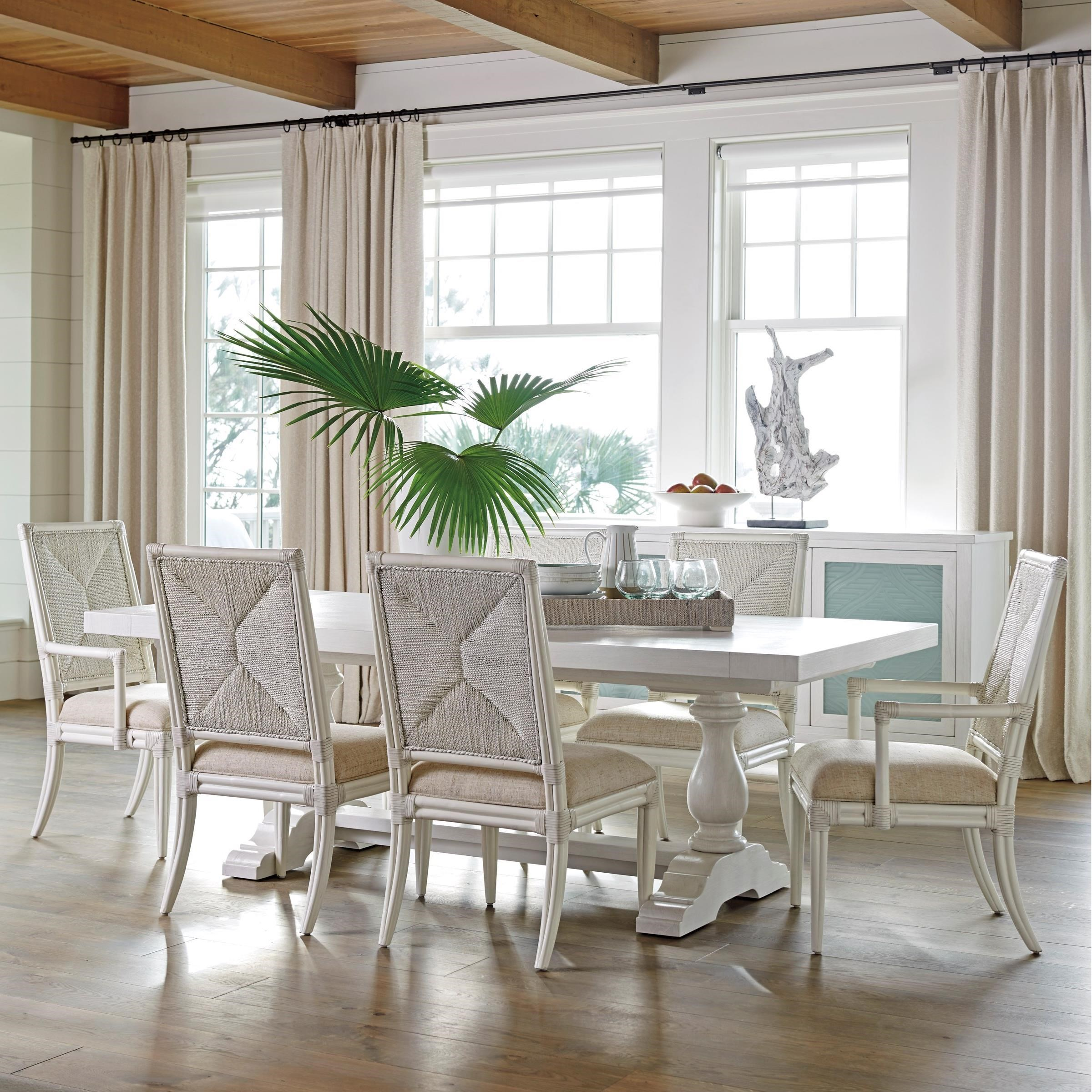 Ocean Breeze 7-Piece Dining Set by Tommy Bahama Home at Baer's Furniture