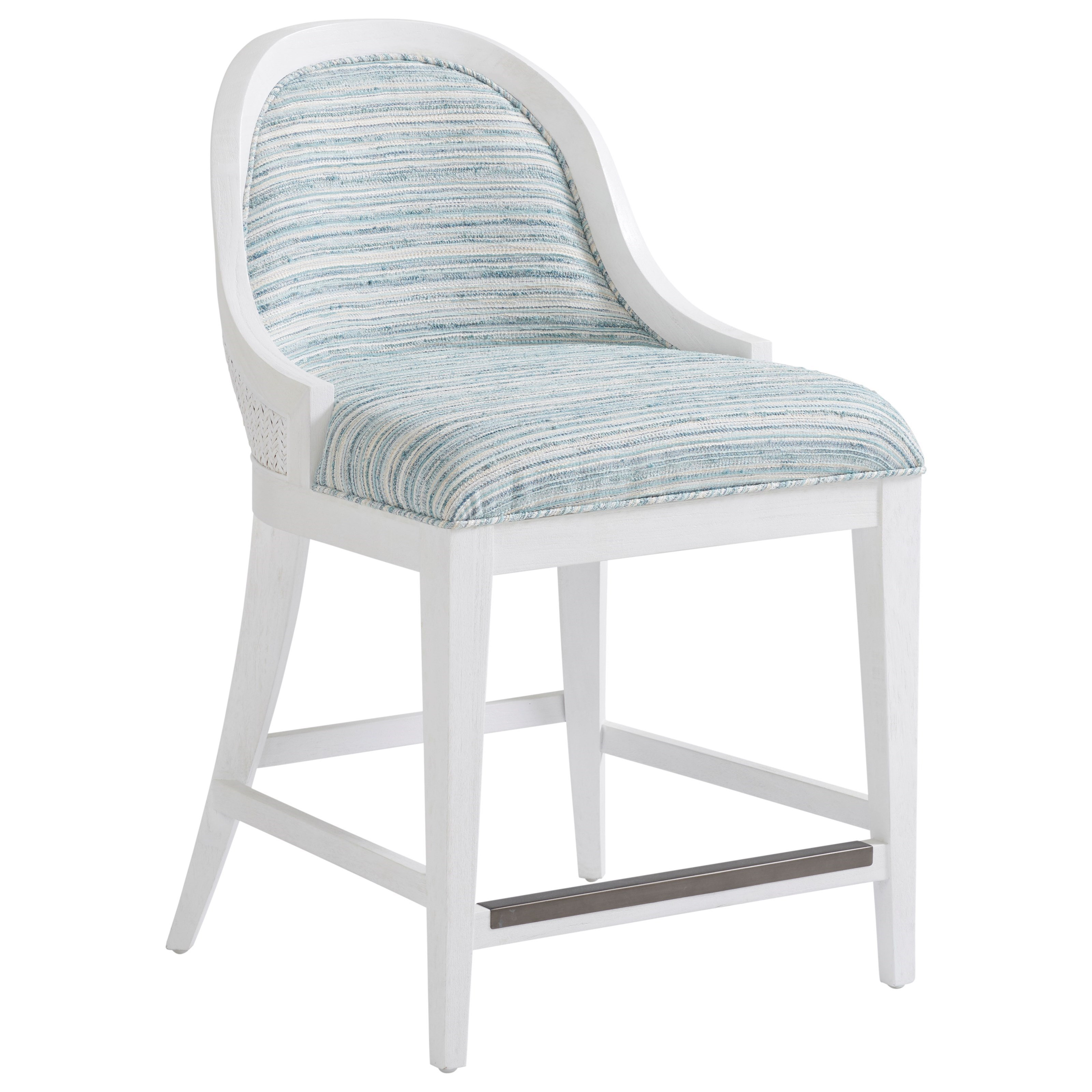 Ocean Breeze Lantana Counter Stool by Tommy Bahama Home at Baer's Furniture