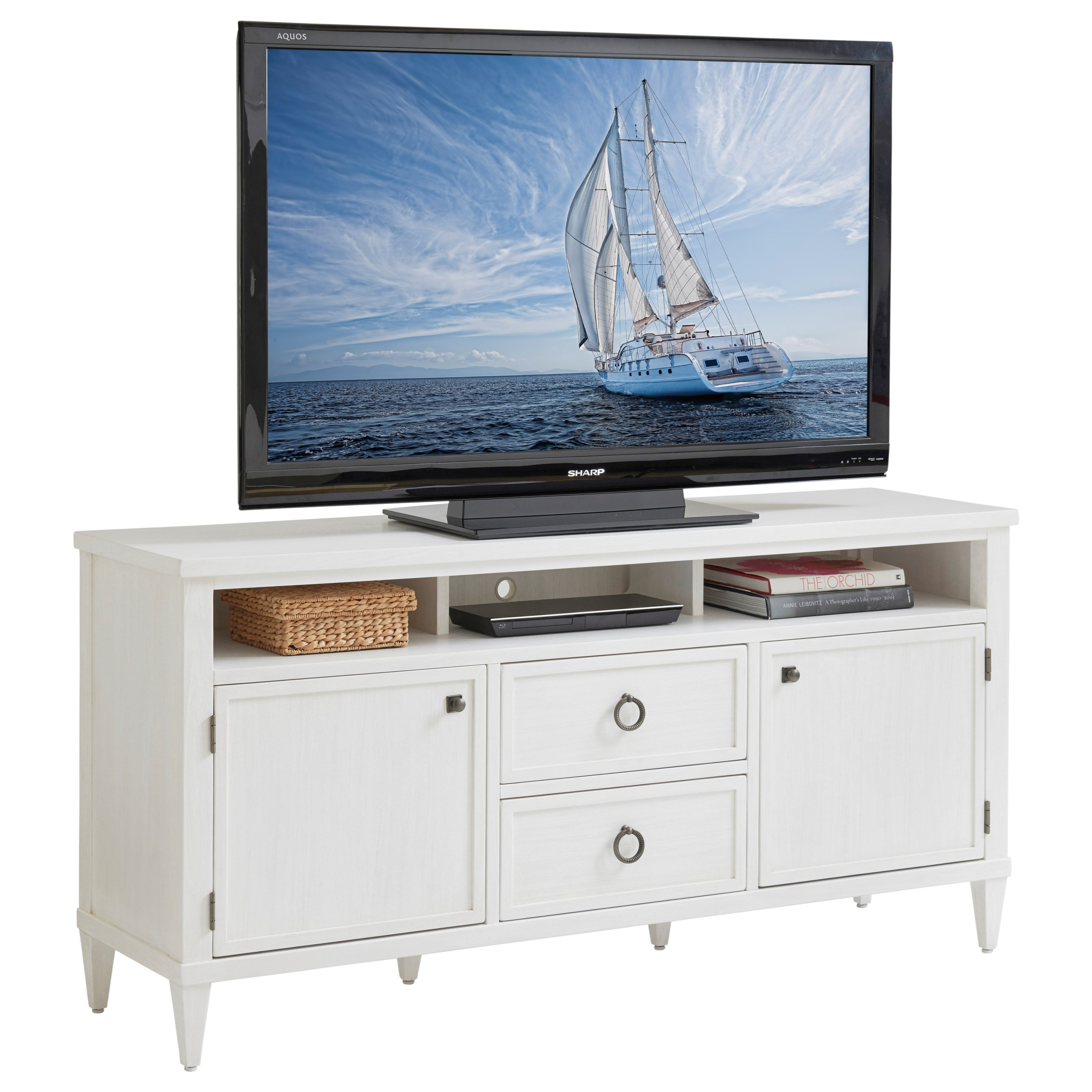 Ocean Breeze Dockside Media Console by Tommy Bahama Home at Baer's Furniture